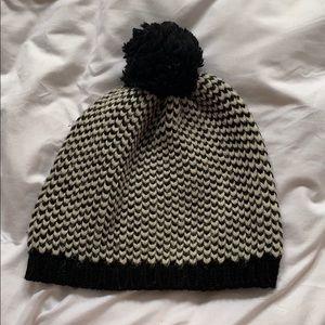 j crew winter hat with Pom Pom